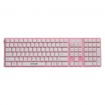Клавиатура Delux DLK-1000UP Pink