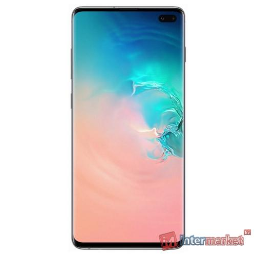 Смартфон Samsung Galaxy S10+ 8/128GB White, SM-G975FZWDSKZ