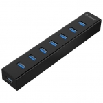 USB HUB 7-port USB 3.0 Orico H7013-U3, Black